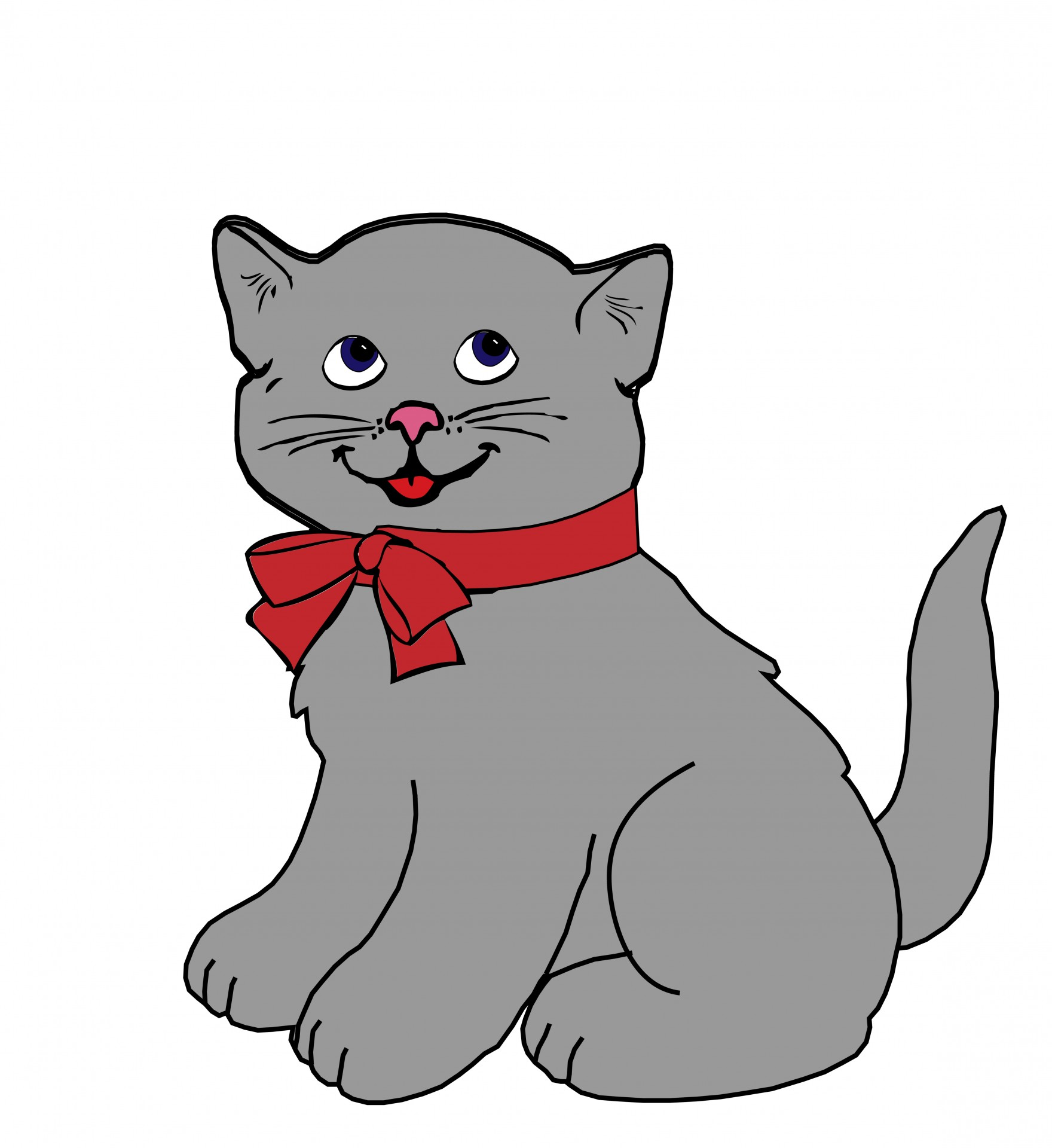 Kitten Cat Clipart