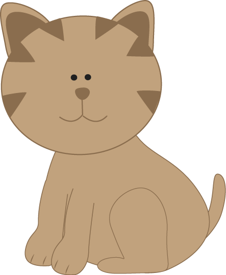 Kitty Cat - Clip Art Cats