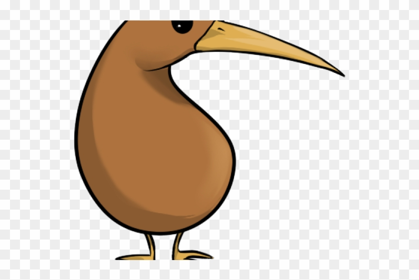 Kiwi Bird Clipart - Kiwi Bird Cartoon Kiwi #693190