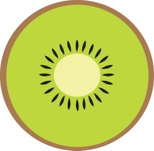 Kiwi Clipart Image Kiwi Fruit