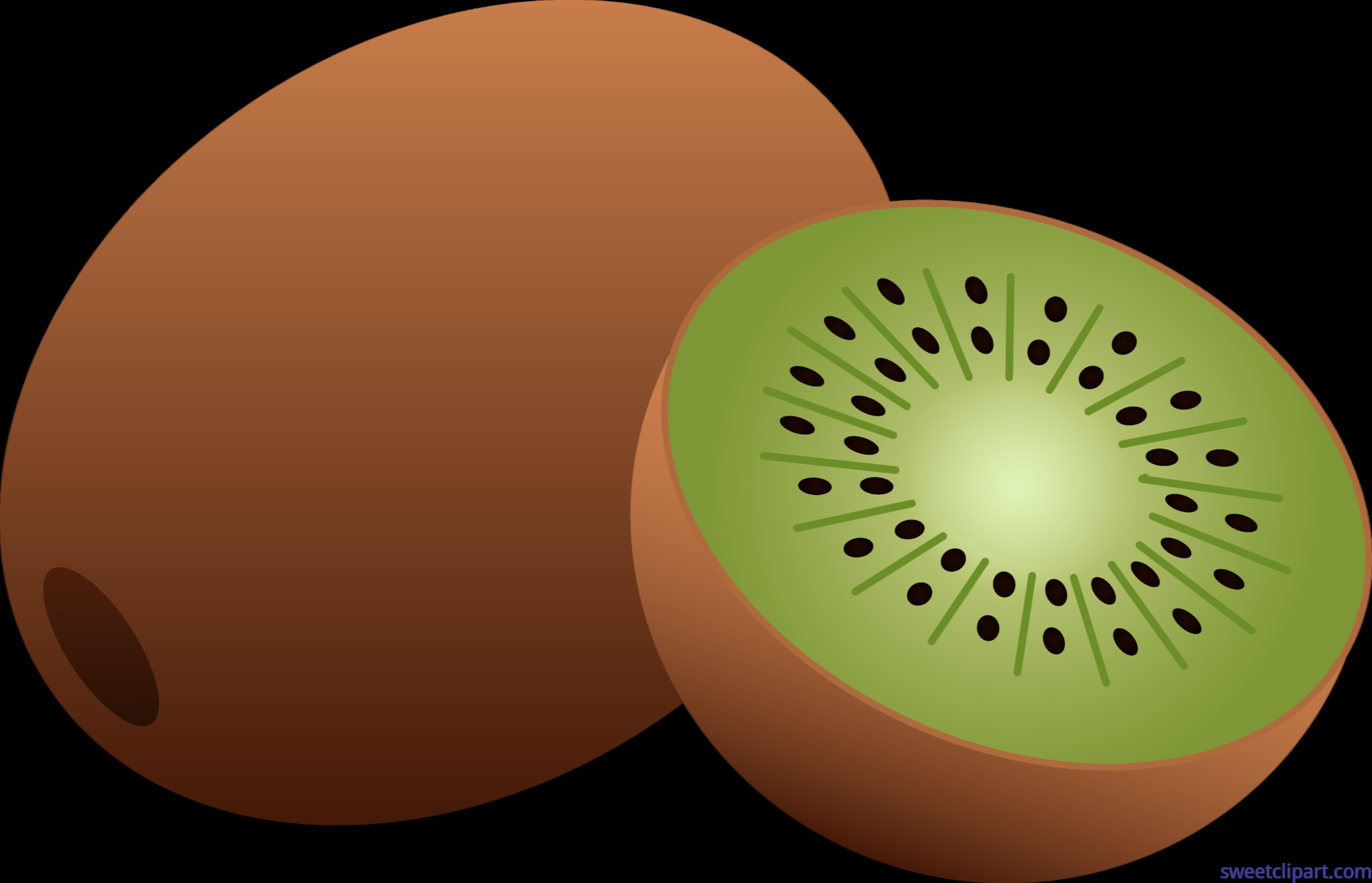 Kiwi Fruit Clip Art - Kiwi Clipart