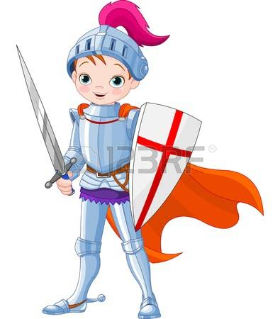 Knight: Illustration Of Little Knight Il-knight: Illustration of little knight Illustration-13