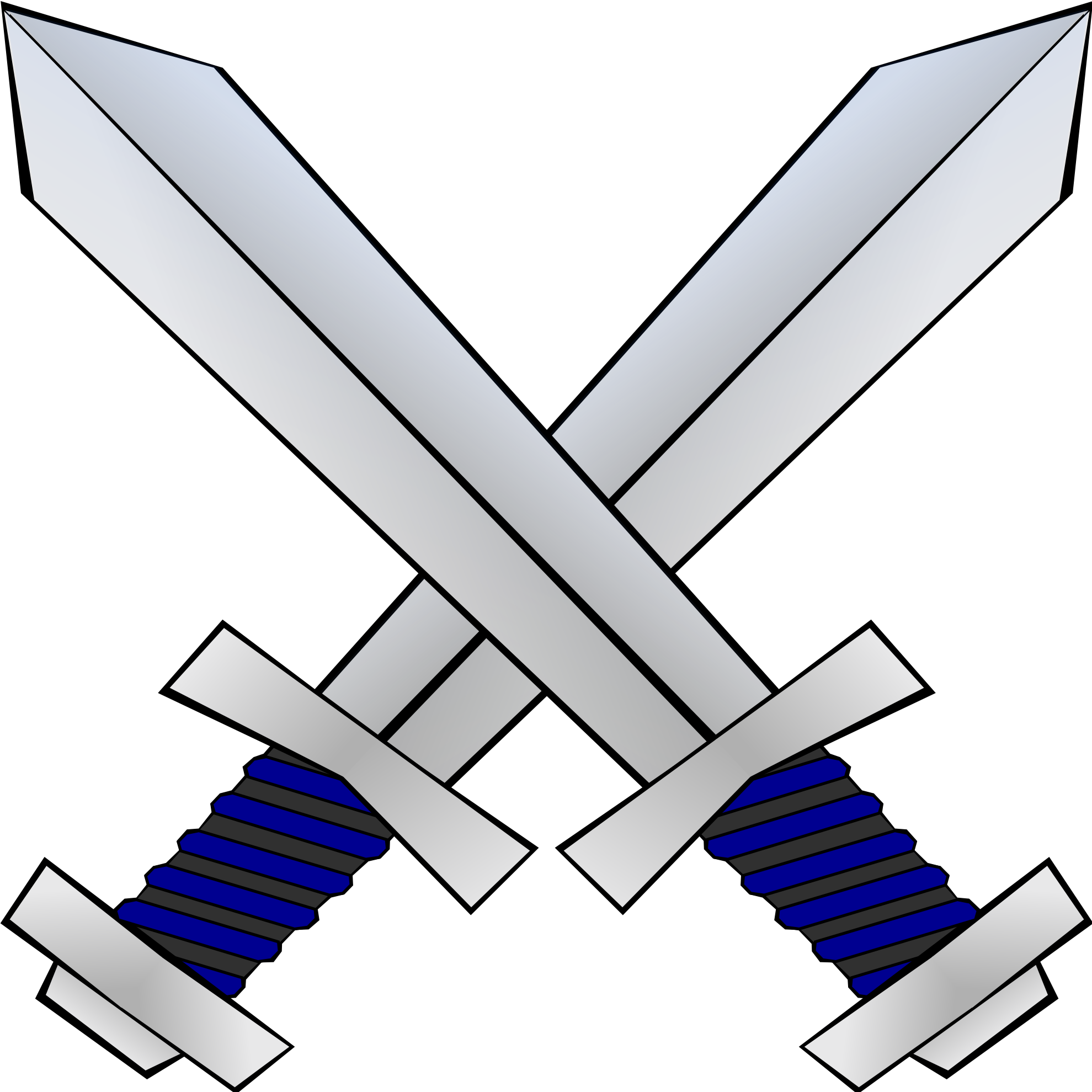 Knight Shield And Sword Clipa - Sword Clip Art