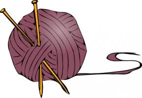 Knitting Yarn Needles Clip Art .-knitting yarn needles clip art .-7