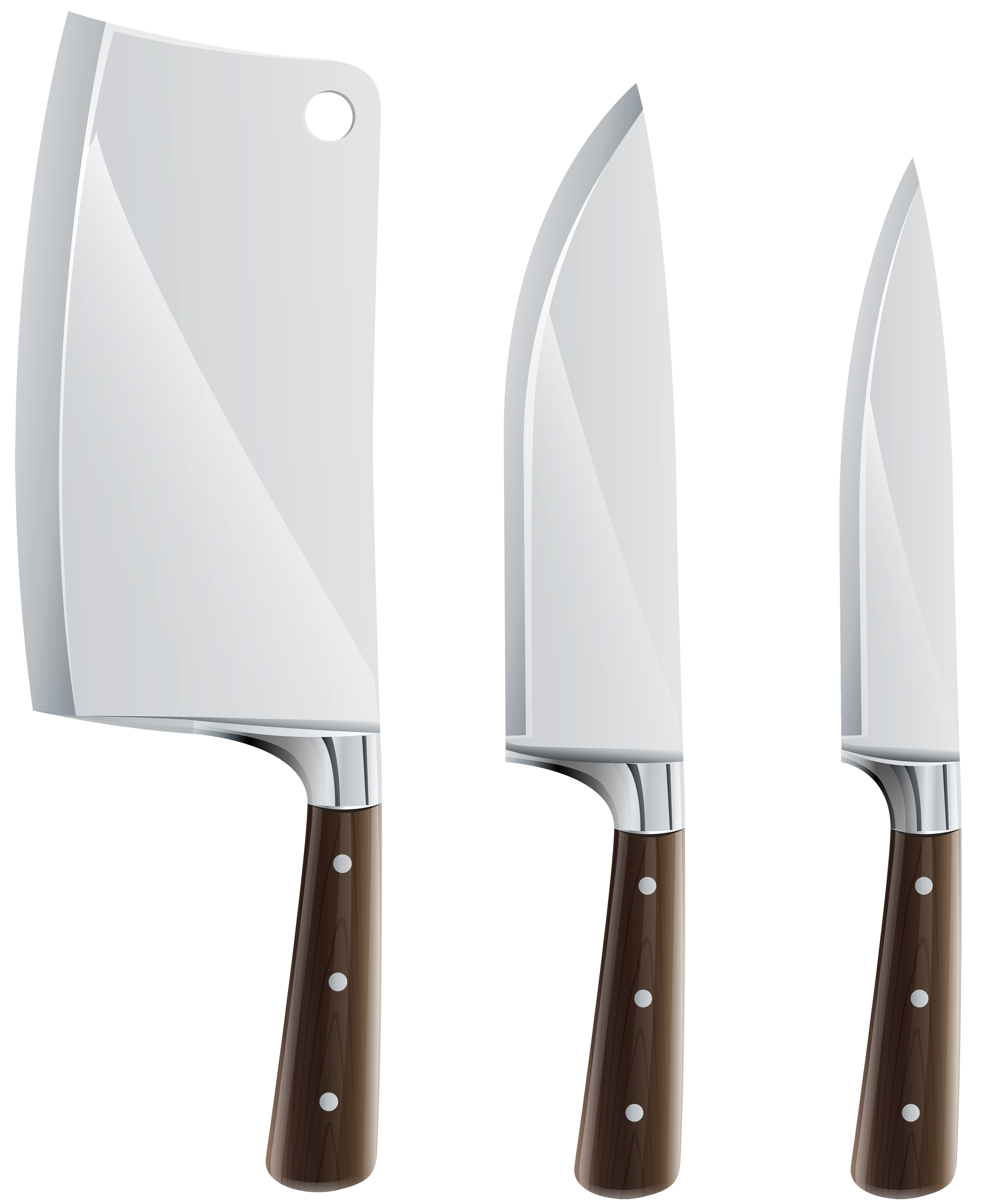 Kitchen Knife Set PNG Clipart In Categor-Kitchen Knife Set PNG Clipart in category Cookware PNG / Clipart -  Transparent PNG pictures and vector rasterized Clip art images.-12