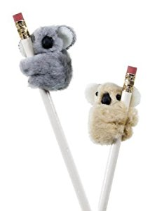 Koala Clip On Pencil Huggers 12 Pack