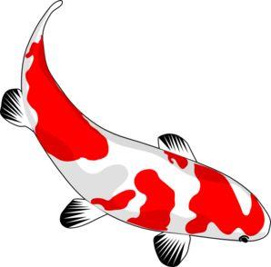 Koi Fish Clip Art. Free Japanese Fish Im-Koi Fish clip art. Free Japanese fish image.-18