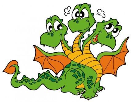 Komodo dragon clip art free .