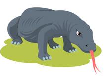 Komodo Dragon Clipart. Size: 57 Kb-komodo dragon clipart. Size: 57 Kb-14