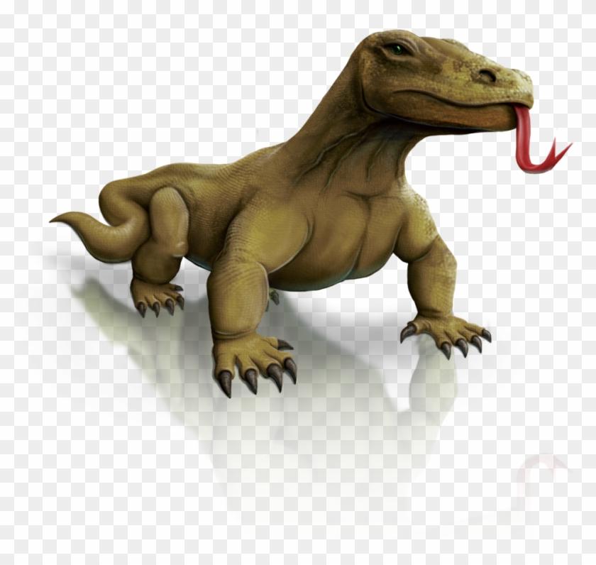 Komodo Dragon Clipart Tribal - Komodo Ic-Komodo Dragon Clipart Tribal - Komodo Icon Png #1038788-15