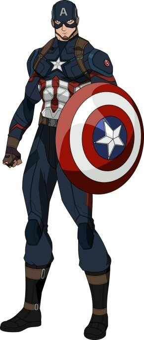 Captain America obviously. The power and ability of Captain America is way  more superior than that of Krishh.