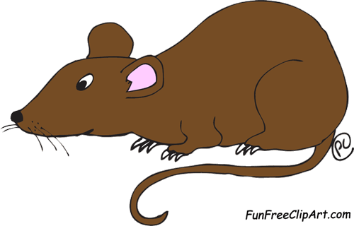Rats Clipart Black And White