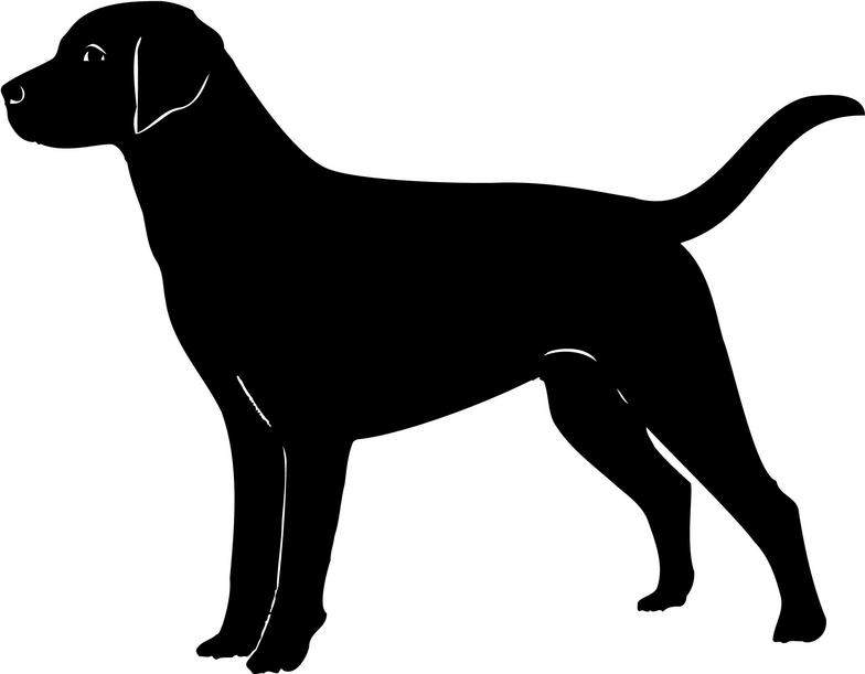 Labrador Retriever Clip Art ..-Labrador Retriever Clip Art ..-13