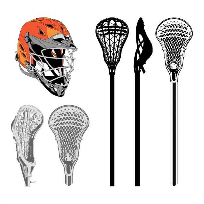 Lacrosse Clipart 3-Lacrosse clipart 3-7