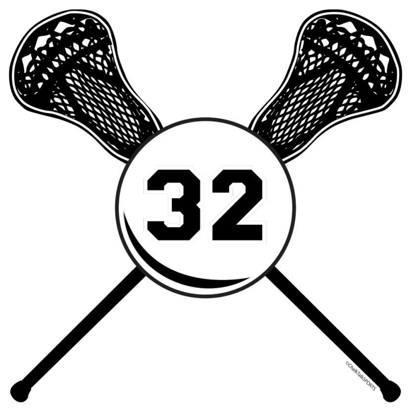 Lacrosse clipart 5