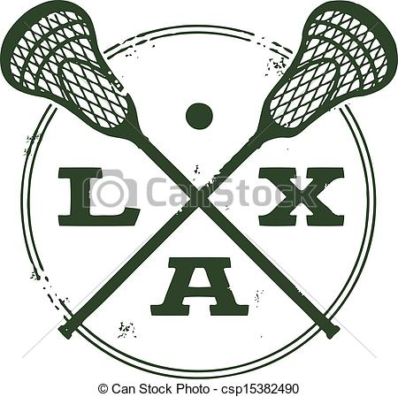 ... Lacrosse LAX Sport Stamp - Vintage style logo featuring.