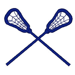 lacrosse sticks embroidery .