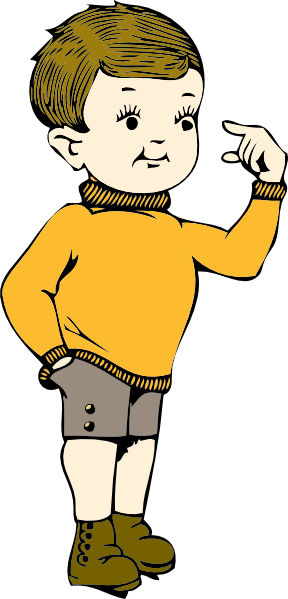 lad clipart - Clipart Of Boy