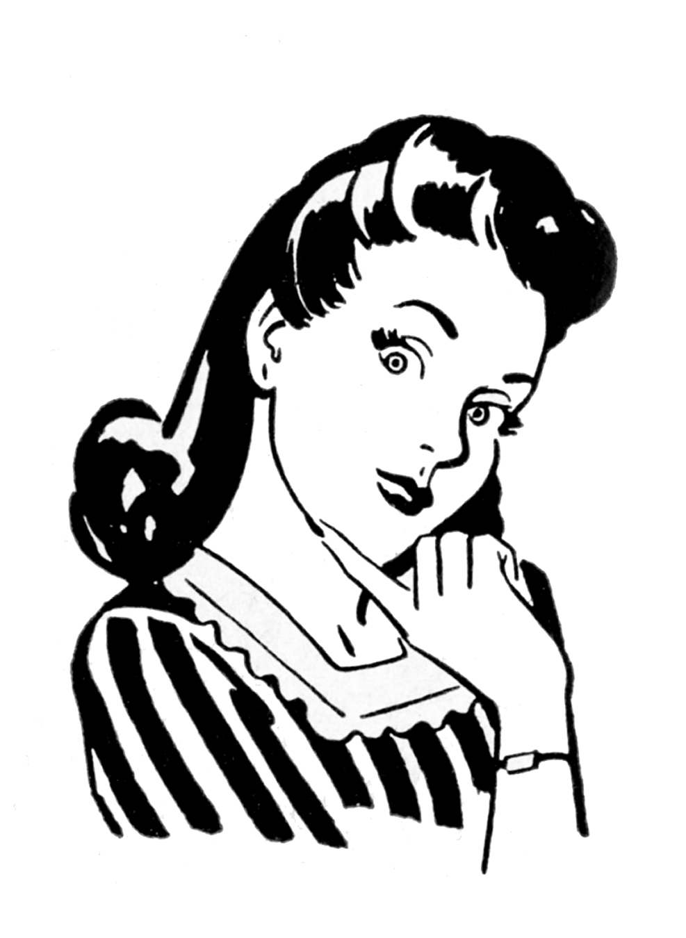 lady clipart