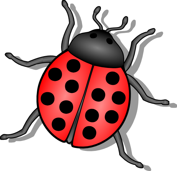 Lady Bug Clip Art At Clker Com Vector Clip Art Online Royalty Free