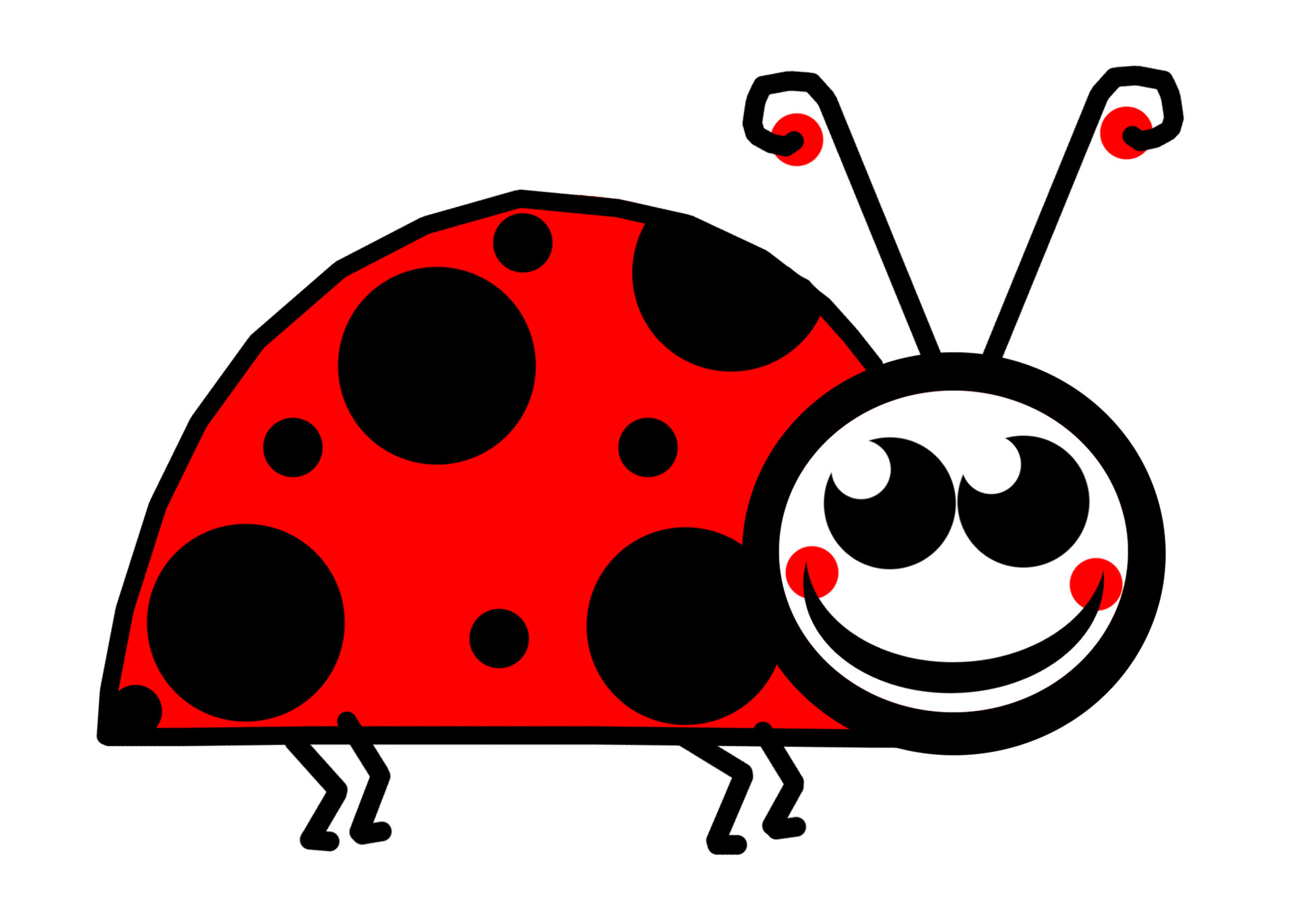 Lady Bug Clip Art - Ladybug Clipart