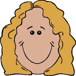 Lady Face Clip Art - Clip Art Face