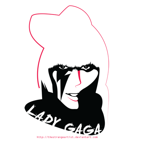 Lady Gaga by TheStrangeArtist ClipartLook.com