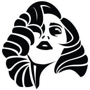 Lady Gaga Silhouette | lady-gaga-vector