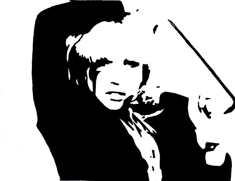 Sharpie Pen Lady Gaga Pop Art by GazF ClipartLook.com