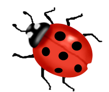 Animated Ladybug Clipart #1-Animated Ladybug Clipart #1-2