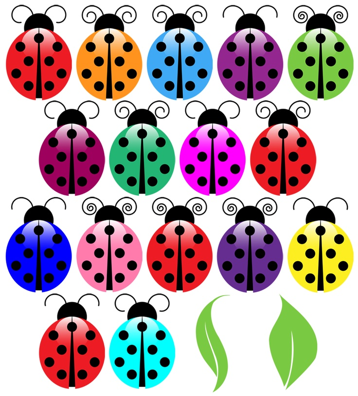 Ladybugs Clipart - Print Candee | Templa-Ladybugs Clipart - Print Candee | Templates from the Talented | Pinteu2026-17