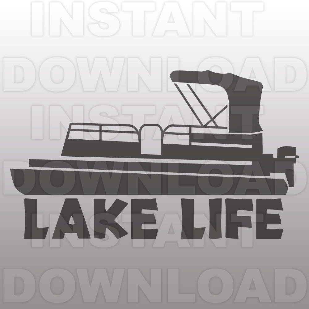 Lake Life with Pontoon Boat S