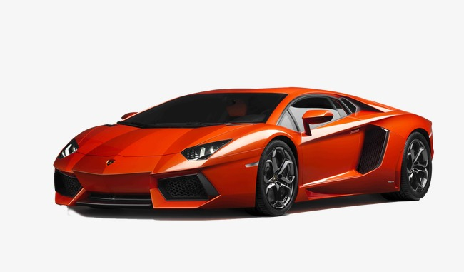 orange lamborghini, Product Kind, Lamborghini, Orange Body PNG Image and  Clipart