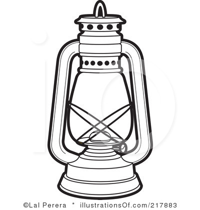 Lamp Clipart Black And White-lamp clipart black and white-4