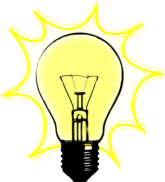 Lamp Light Bulb Clipart Free Clip Art Images