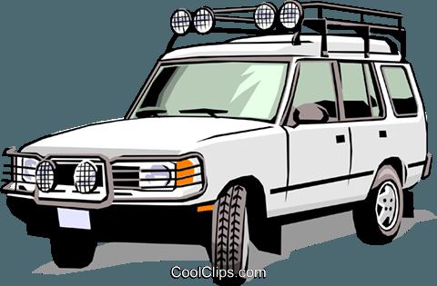 Land Rover Royalty Free Vector Clip Art -Land Rover Royalty Free Vector Clip Art illustration-3