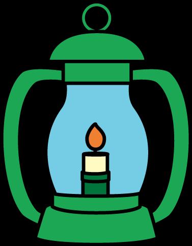 Lantern Clip Art Image - Green Lantern W-Lantern Clip Art Image - green lantern with a handle and a lit flame-9