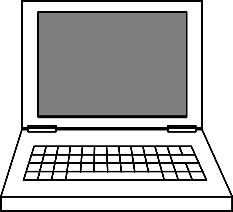laptop clipart