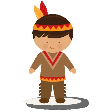 Large Boy Native American Clip Art-Large boy native american clip art-4