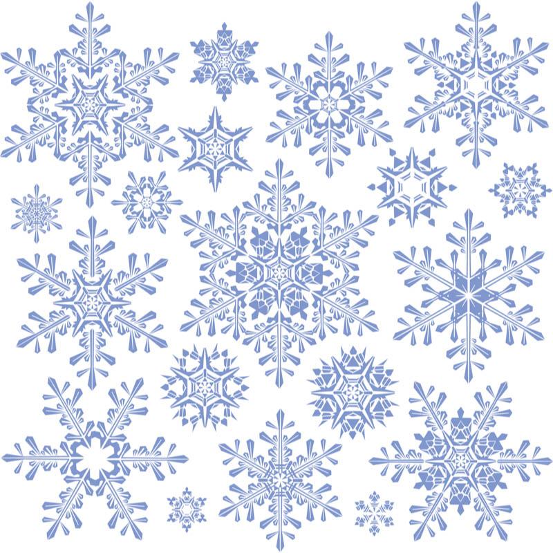 Large Decorative Snowflake .