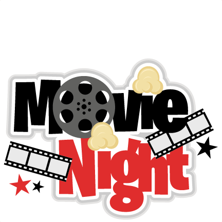 Large Movie Night Title6 Png u0026middot; Kids Movie Night Clipart .