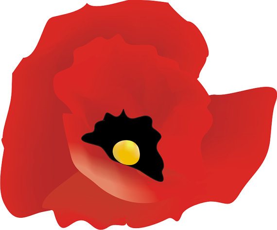 Large Poppies Clipart