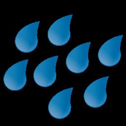 Large Raindrops Icon-Large Raindrops Icon-5