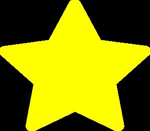 Large Yellow Star Clip Art At Clker Com Vector Clip Art Online