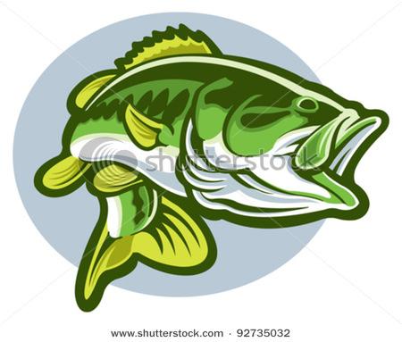 Largemouth Bass Fish Clip Art-largemouth bass fish clip art-8
