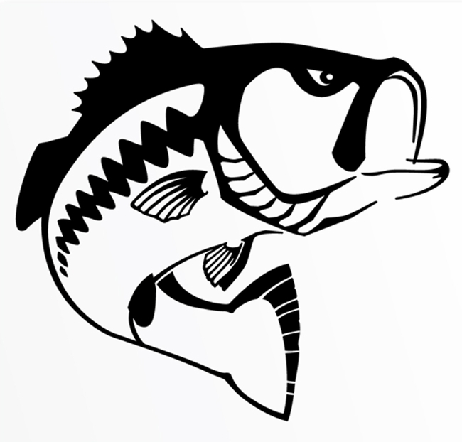 Largemouth Bass Clip Art Free .-Largemouth Bass Clip Art Free .-10