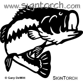 Largemouth Bass Stencils - Google Search-largemouth bass stencils - Google Search-17