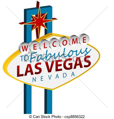 Welcome To Las Vegas Sign - csp8856322