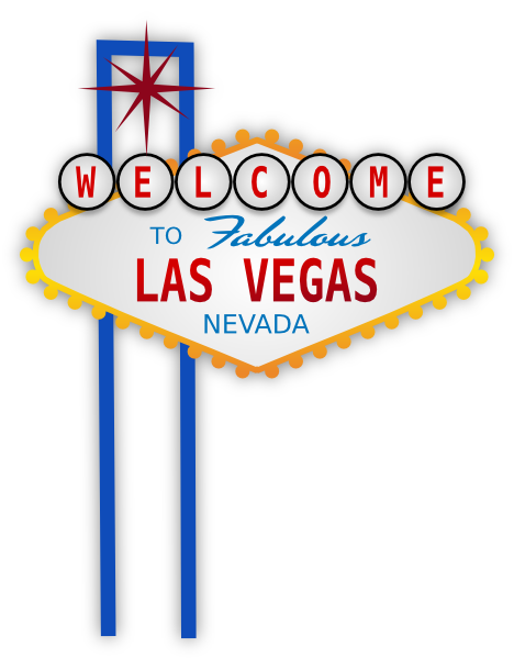 Las Vegas Sign Clip Art At Clker Com Vector Clip Art Online Royalty