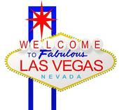 Las Vegas Sign Royalty Free Clip Art
